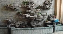 【室内假山】室内假山优点_室内假山喷泉作用_室内假山盆景设计