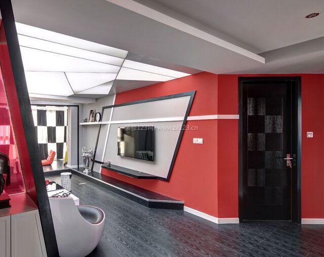 【红色装修】红色装修的色系搭配知识_红色装修风格效果图