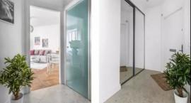 38平单身公寓室内设计案例 北欧风一居室功能齐全!