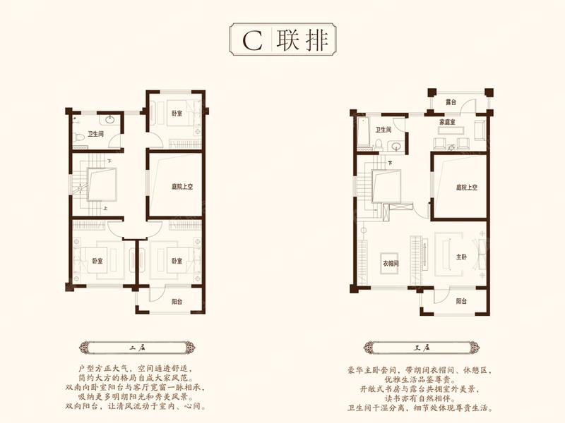 C联排-5室1厅2卫C联排-5室1厅2卫